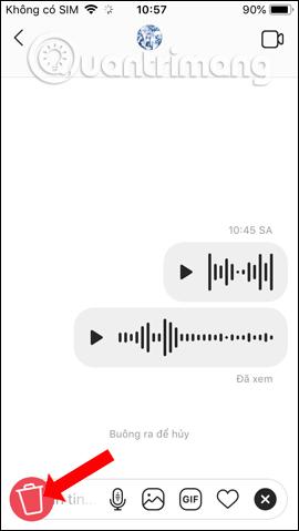 Xóa đoạn âm thanh