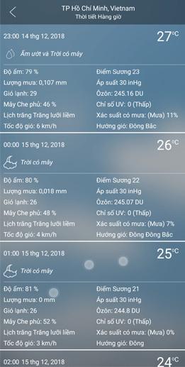 Weather Forecast Pro 3