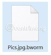 Cách loại bỏ virus .bworm Files