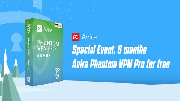 Tặng miễn phí 6 tháng sử dụng Phantom VPN Pro