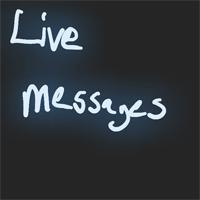Cách tạo thiệp bằng Live Message Windows 10