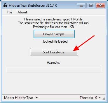 Vô hiệu hóa mã độc HiddenTear Ransomware với HT Brute Forcer - Ảnh minh hoạ 4