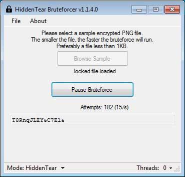 Vô hiệu hóa mã độc HiddenTear Ransomware với HT Brute Forcer - Ảnh minh hoạ 5