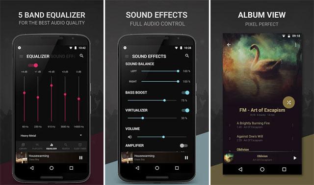 ứng dụng nghe nhạc miễn phí cho Android Ứng dụng Google Play Music