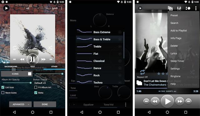 ứng dụng nghe nhạc miễn phí cho Android Ứng dụng Poweramp