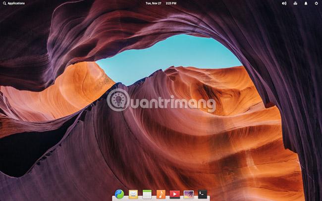 Đăng nhập vào desktop mới