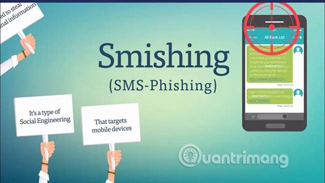 Smishing - Mối đe dọa bảo mật nghiêm trọng
