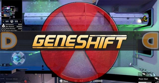 Geneshift là một tựa game mang lối chơi Battle Royale được lấy cảm hứng từ Grand Theft Auto 2