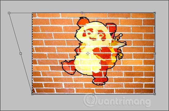 Kéo giãn tường gạch