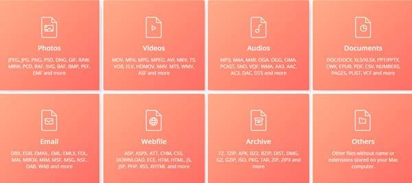 Hỗ trợ hơn 550 loại tập tin khác nhau trên Mac