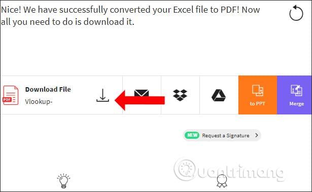 Tải file PDF lên Smallpdf