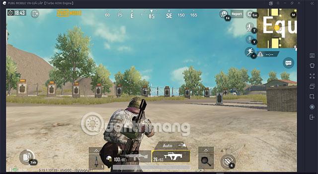 Training Mode PUBG Mobile VNG