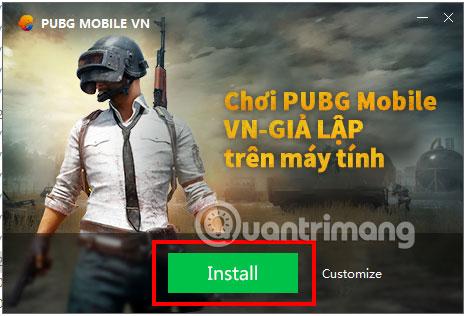 Cài đặt PUBG Mobile VNG PC