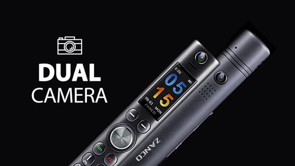 Zanco cũng được trang bị camera kép đó, mỗi mặt trước và sau 1 camera