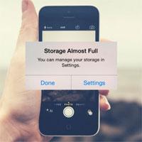 Những mẹo giúp điện thoại của bạn không bị đầy bộ nhớ