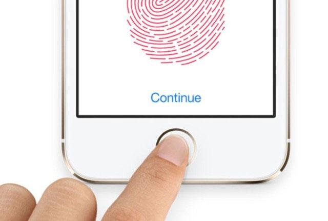 Đăng ký Touch ID trên iPhone