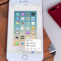 Cách chỉnh sửa ảnh chụp màn hình iPhone