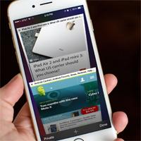 Cách tự cuộn trang web theo hướng iPhone