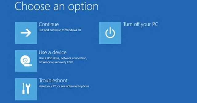 Cách xóa các bản cập nhật khỏi Windows Recovery Environment (WinRE)
