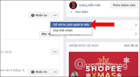 Cách hủy Admin trong nhóm Facebook - Ảnh minh hoạ 4