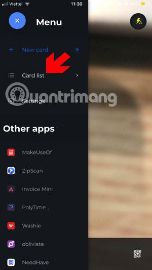 Danh sách tính năng ZipCard