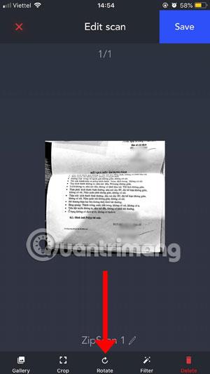 Scan tài liệu
