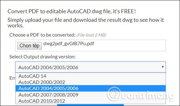 Cách chuyển file PDF sang Autocad - Ảnh minh hoạ 6