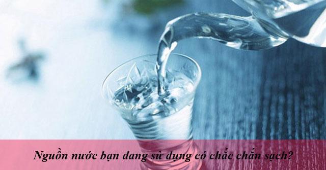 Tiêu chí đánh giá nước sạch