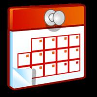 Cách viết ghi chú vào lịch Desktop Calendar