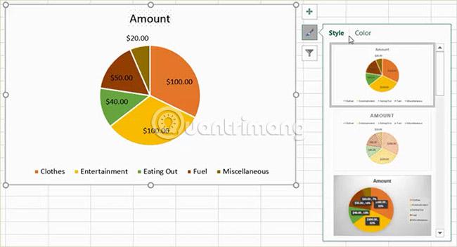 Cách tạo biểu đồ tròn trong Microsoft Excel - Ảnh minh hoạ 12