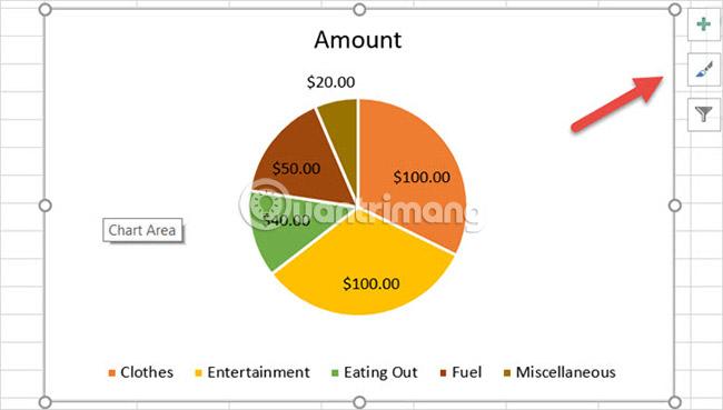 Cách tạo biểu đồ tròn trong Microsoft Excel - Ảnh minh hoạ 5