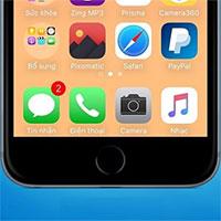 Mẹo xóa thanh dock trên màn hình iPhone