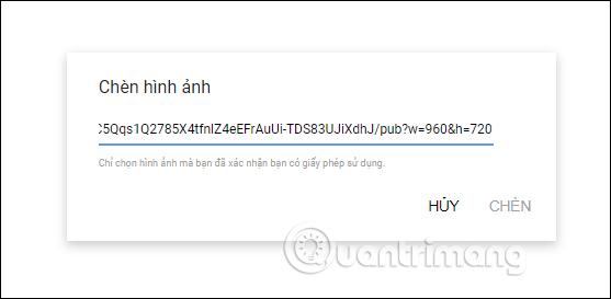 Nhập URL