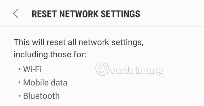 Kiểm tra kết nối
