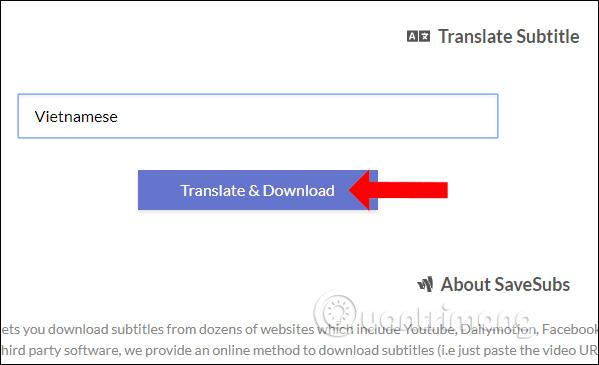 Chọn ngôn ngữ mới