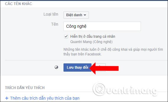 Cách đặt tên Facebook biệt danh - Ảnh minh hoạ 4