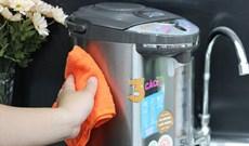 Sử dụng bình thủy điện đúng cách giúp tăng tuổi thọ