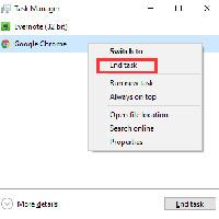 Tìm hiểu về tính năng End Task trong Windows