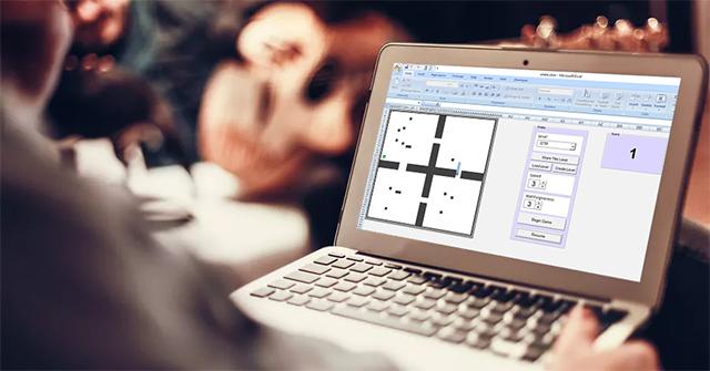 Cách chơi Rắn săn mồi trên Excel