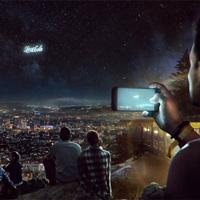 Phóng tên lửa viết chữ lên vũ trụ để phát quảng cáo trên bầu trời, xu hướng quảng cáo trong tương lai?
