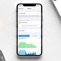 Cách xem thời gian sử dụng pin trên iOS 12