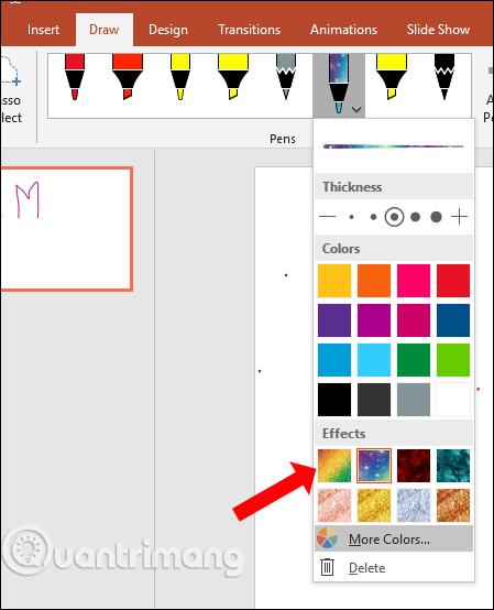 Cách dùng công cụ Draw trên PowerPoint - Ảnh minh hoạ 10
