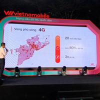 Vietnamobile hoàn tất phủ sóng 4G ở 20 tỉnh thành miền Nam