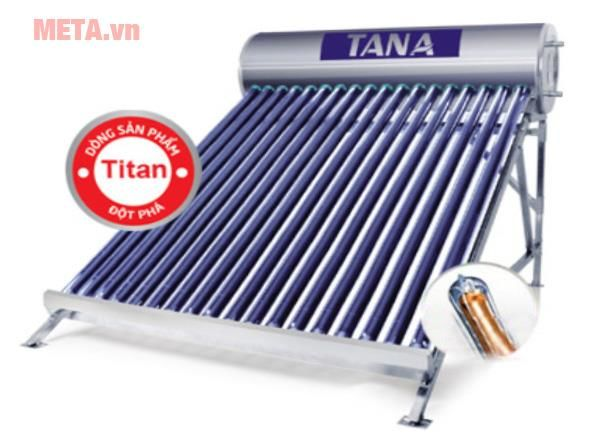 Máy nước nóng năng lượng mặt trời Tân Á Titan Pro TA-GO 58-18