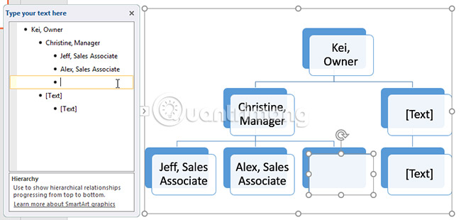 Thao tác với các đồ họa SmartArt trong PowerPoint 2016 - Ảnh minh hoạ 9