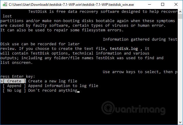 Cách khôi phục phân vùng bị mất bằng TestDisk - Ảnh minh hoạ 3