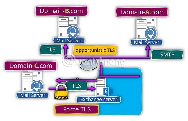 Opportunistic TLS