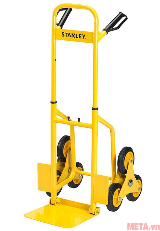 Xe đẩy hàng Stanley 6 bánh có thiết kế bắt mắt, hiện đại.