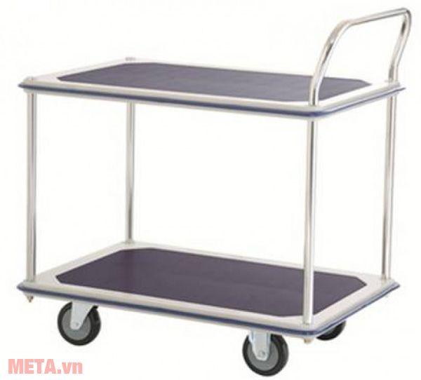 Xe đẩy hàng Sumo có nhiều tầng, vận chuyển được nhiều hàng hóa.