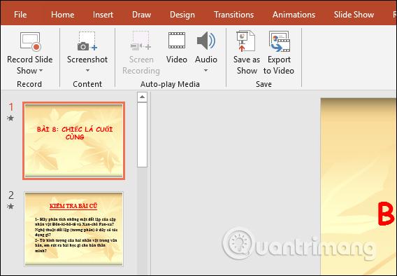 Cách ghi âm, ghi hình slide PowerPoint - Ảnh minh hoạ 3
